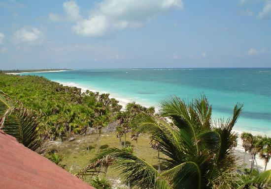 Pesca Maya Fishing Lodge: view from Seaclusion Terrace
