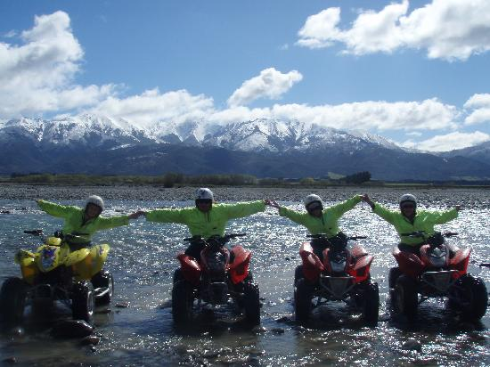 Hanmer Springs Attractions: Quads