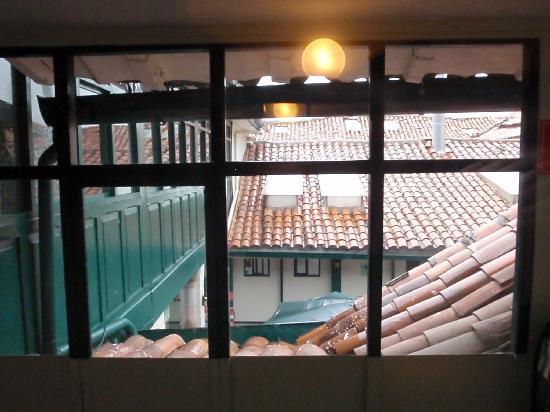Casa Andina Standard Cusco Koricancha: view from the hallway