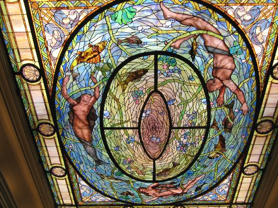 Hot Springs Mountain: Bathhouse Stained Glass