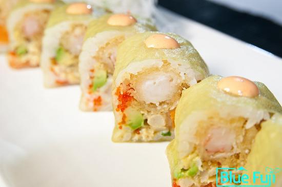 Blue Fuji: Celtics Maki sushi medford