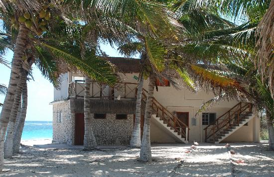 Pesca Maya Fishing Lodge: Gran Slam building