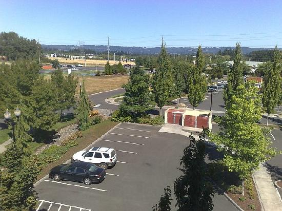 SpringHill Suites Portland Hillsboro: view from window
