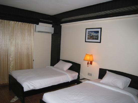 โรงแรมอังกอร์ เพิร์ล: picture of the beds