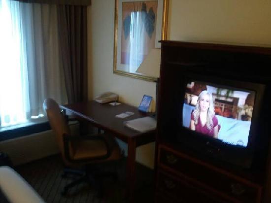Comfort Inn Clarksville: Desk