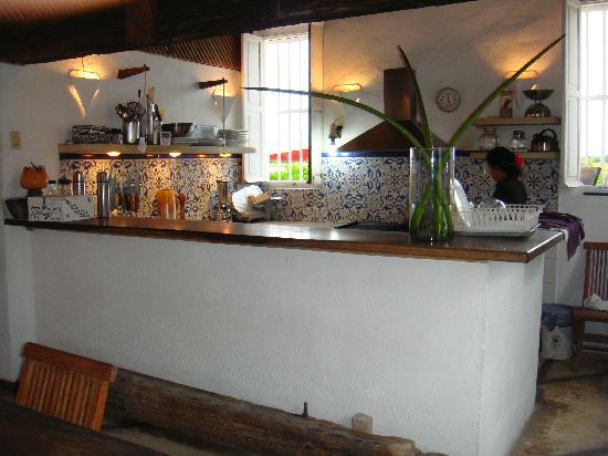 Posada La Cigala: Cozinha