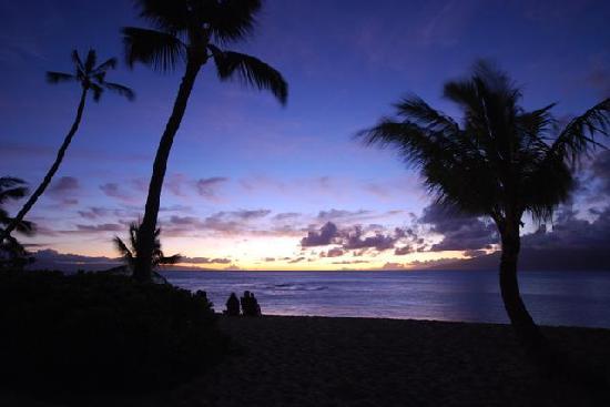 The Mauian Hotel on Napili Beach: Sunset2