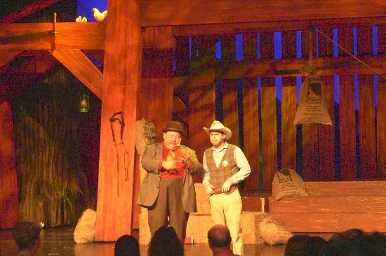 Hatfield & McCoy Dinner Show: scene from the show