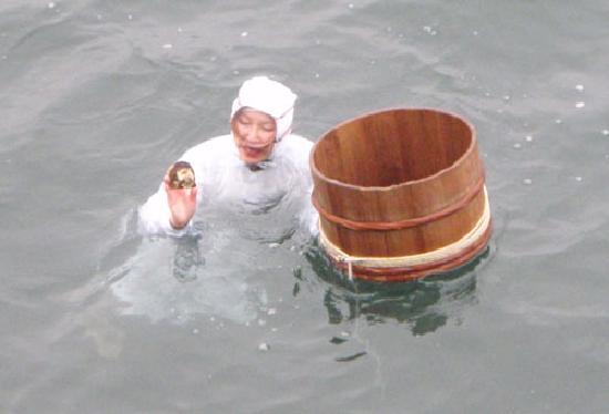 Mikimoto Pearl Island: 海女さん2