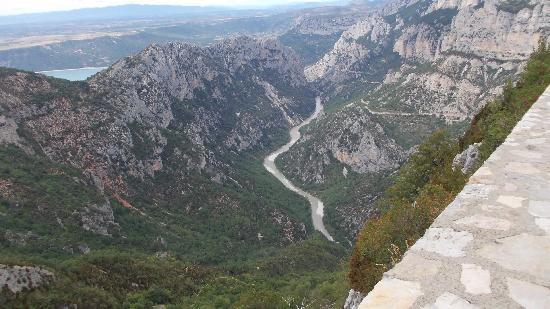 Gorges du Verdon: grandioses les gorges