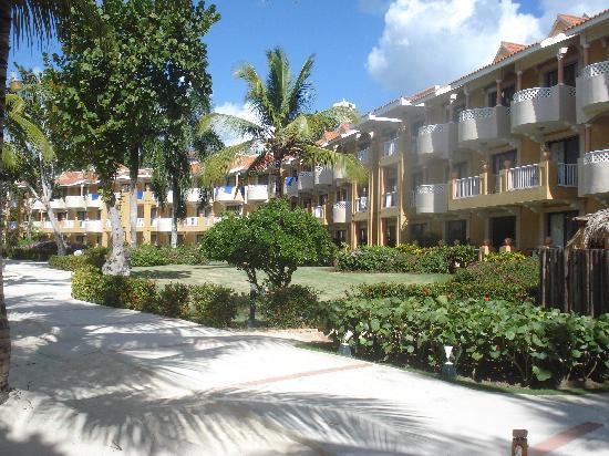 Viva Wyndham Dominicus Palace: Vista del edificio del Dominicus Palace
