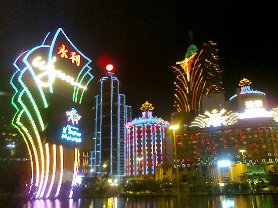 มาเก๊า, จีน: Wynn Macau's Performance Lake