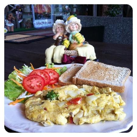 Coffee Old City: Thai Omelette