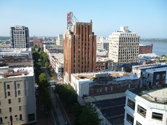เรสซิเดนซ์อินน์ เมมฟิส ดาวน์ทาวน์: View from the roof of the hotel