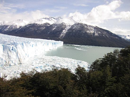 Perito Moreno Glacier: view north