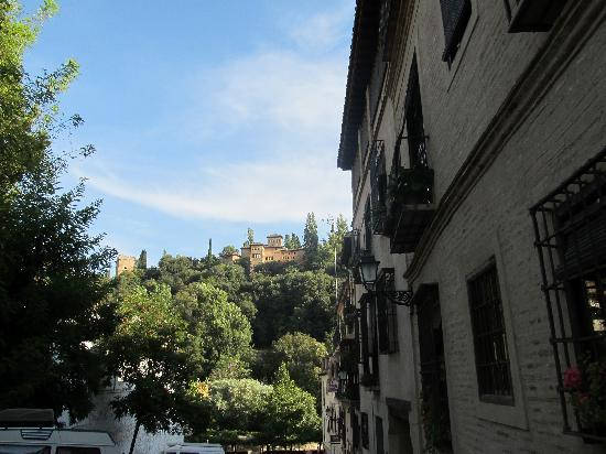 Hotel Casa Morisca: View from just in front of Hotel