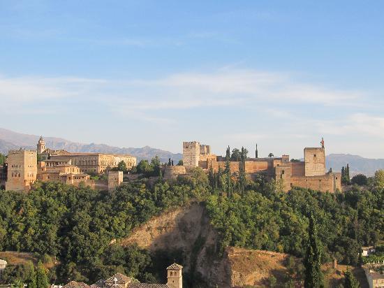 HOTEL CASA MORISCA: View from St. Nicholas Mirador-Worth every step!