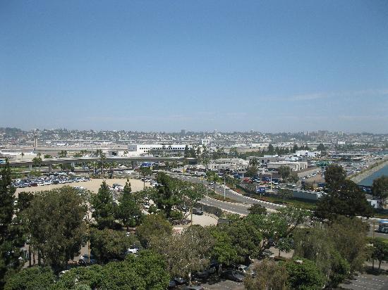Sheraton San Diego Hotel & Marina: our view towards the city