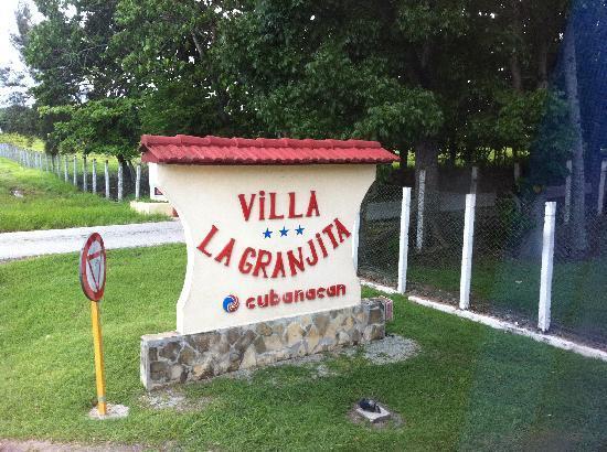 La Granjita: entrada