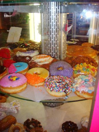 Voodoo Doughnut Too: doughnut display