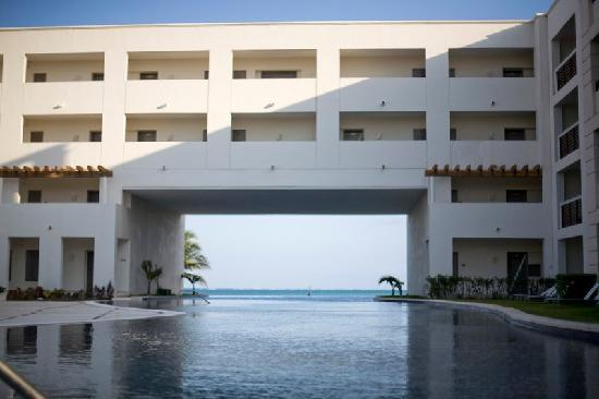 Secrets Silversands Riviera Cancun: one of the pools