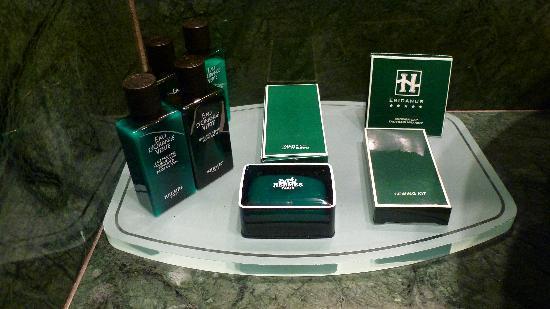 Eridanus Hotel: Hermes Toiletries!!!