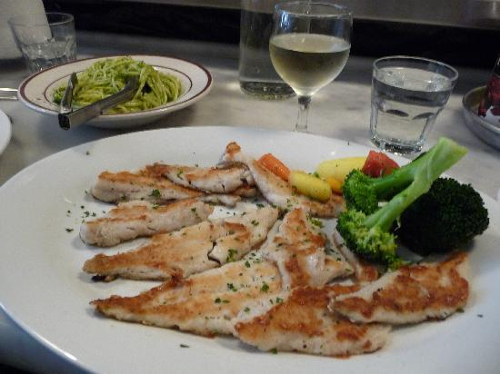 Sotto Mare Oysteria & Seafood: Grilled Sand Dabs