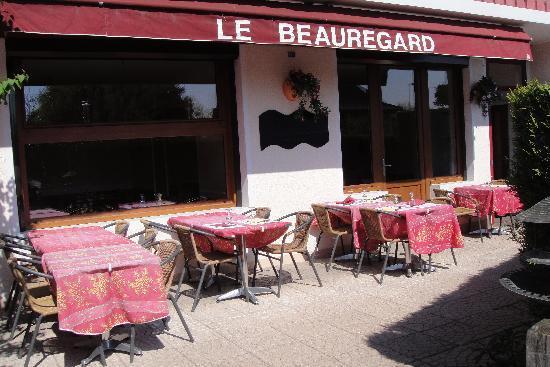 Hotel Le Beauregard: restaurant