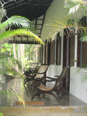 Nisala Arana Boutique Hotel: Outside Our Room