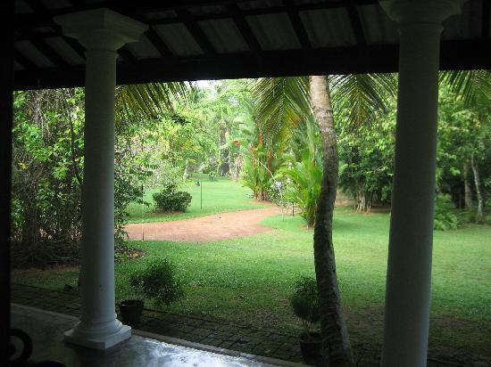 Nisala Arana Boutique Hotel: The gardens from our room