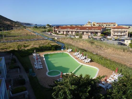 Hotel Isola Rossa: vue depuis le balcon
