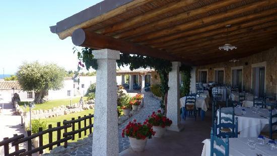 Hotel Nuraghe Arvu: Restaurant