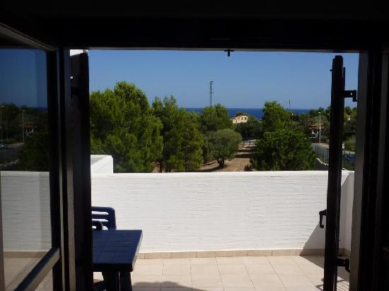 Hotel Nuraghe Arvu: Vue depuis la chambre