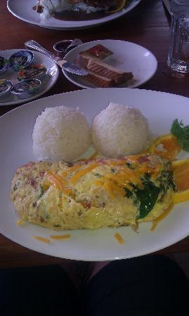 Island Palms Grill & Bar: The omelet