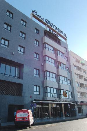 Hotel Olympia: Facciata albergo