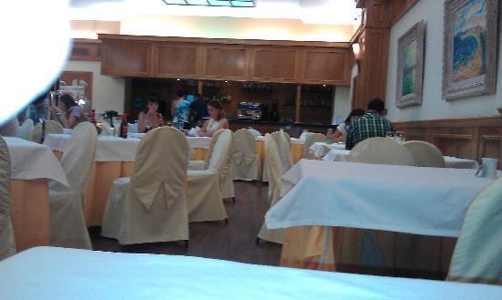Hotel Olympia: ristorante a buffet