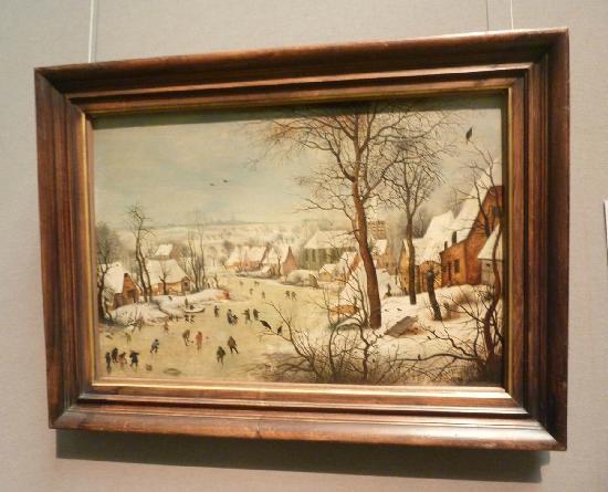 พิพิธภัณฑ์ประวัติศาสตร์คุนสท์: Winterlandscape with Bird-Trap