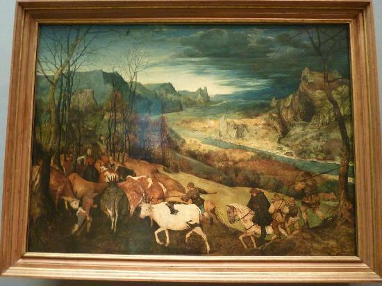 พิพิธภัณฑ์ประวัติศาสตร์คุนสท์: The Return of the Herd (Oct-Nov from The Seasons cycle)
