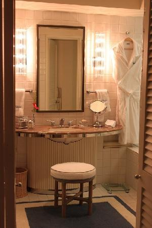 Halekulani Hotel: バスルーム