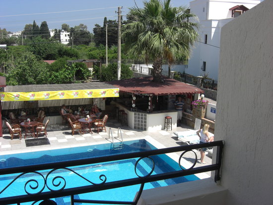 Palmiye Apart: View from our room