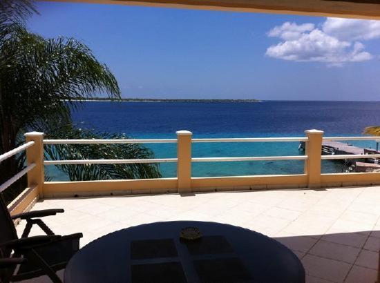 Den Laman Condominium: The View from Ocean front.