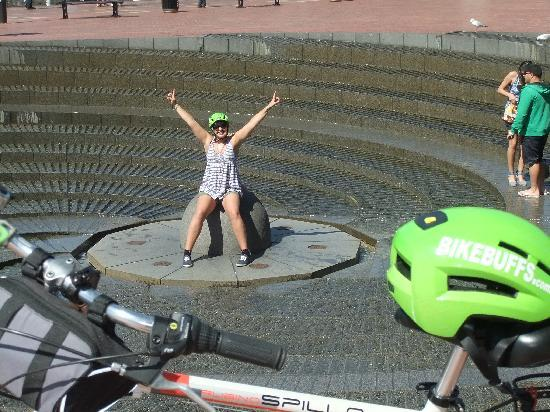 Bike Buffs - Sydney Bicycle Tours: Concentric Fountain Darling Harbour