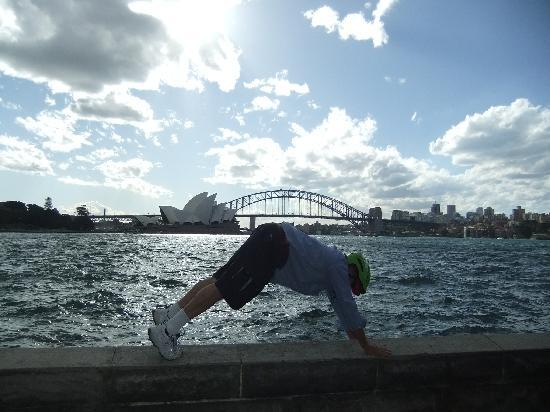 Bike Buffs - Sydney Bicycle Tours: Harbour Bridge Plank