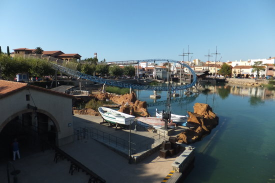 PortAventura Park: This is a shot from the entrance