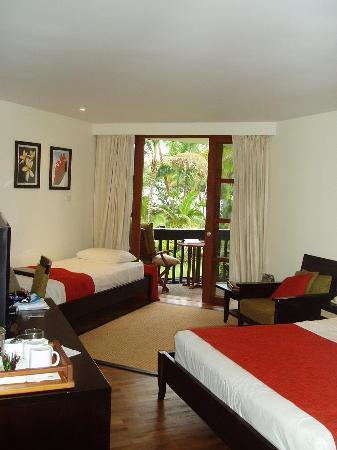 Coral Coast, Fiji: Our room