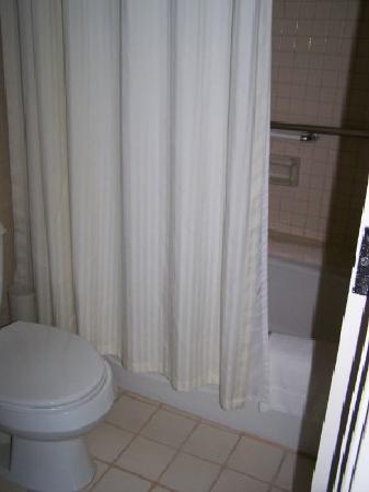 The New Otani Kaimana Beach Hotel: Tiny Bathroom