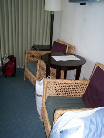The New Otani Kaimana Beach Hotel: Sitting area