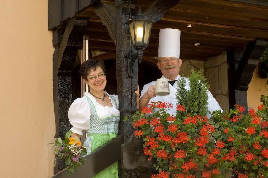 Hotel zum Weyssen Roessle: Herzlich Willkommen