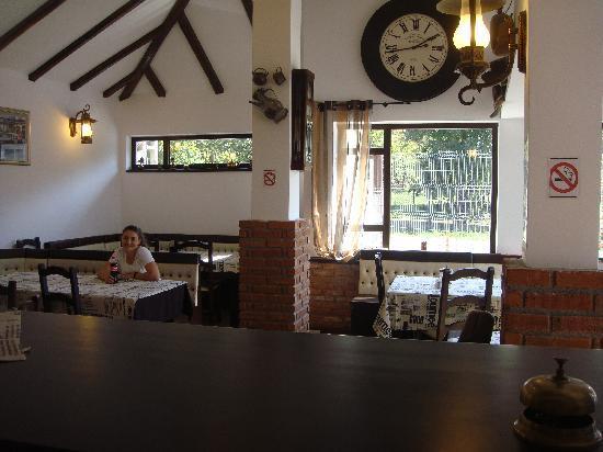 Total Ceahlau Pensiunea: the restaurant