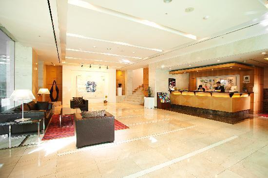 โรงแรมเบสท์ เวสเทิร์น พรีเมียร์ กังนัม: Lobby